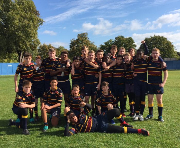 2018 Season U15's WIN V OE's