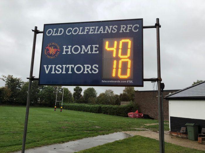 Scoreboard from Aysleford